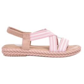 Seastar roz Sandale pentru femei confortabile