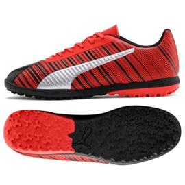 Pantofi de fotbal Puma One 5.4 Tt M 105653 01 roșu negru, roșu