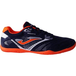 Cizme de fotbal Joma Maxima 903 Sala În portofelul M portocaliu marina, orange bleumarin