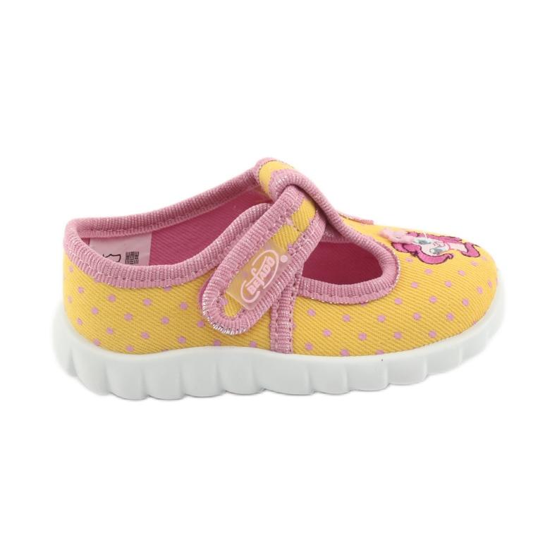 Încălțăminte pentru copii Befado 535P001 roz galben