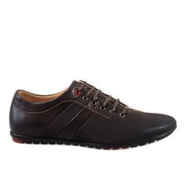 Pantofi pentru bărbați maro WF931-3