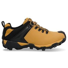 Negru Pantofi pentru trekking HLD913 Camel