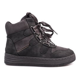 Adidasi din pantofi Gray gri