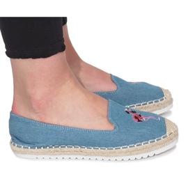 Albastru espadrille Flaming Jeans