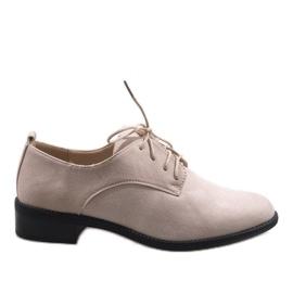 Maro Bej pantofi de jazz de căprioară C-7183