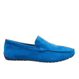 Albastru închis pantofi elegant moale AB07-6