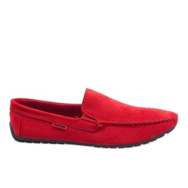 Roșu elegant, moale AB96K-2