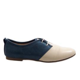 Bej oxford două pantofi oxford