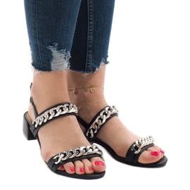 Negru Pantofi cu toc inalt 77-15