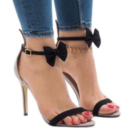 Sare sandale de piele de înaltă calitate cu zăbrele de înaltă calitate ZJ-15P