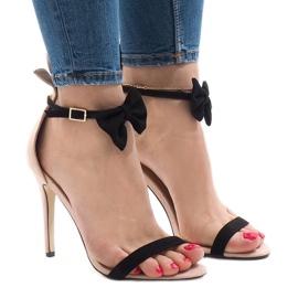 Pantofi din piele de înaltă pieptene JZ-6334