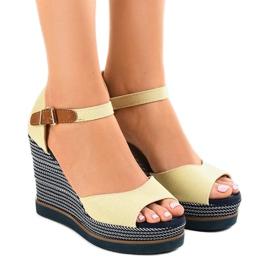 Maro Bej sandale pe pantof 9079 espadrilles