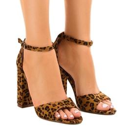 Sandale din piele Grouper pilon P-6700