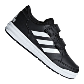 Negru Adidas AltaSport Cf Jr D96829 pantofi