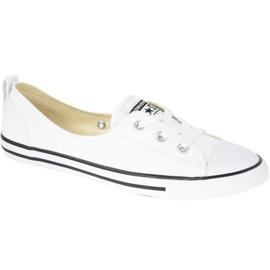 Alb Pantofi Converse Chuck Taylor Toate dantele de balet de stele în C547167C