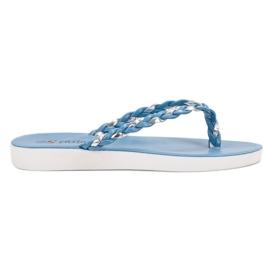 Seastar Flip-flăcări albastre albastru