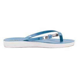 Seastar albastru Flip-flops cu arcul
