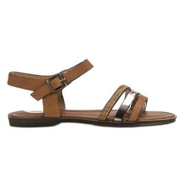 Bello Star maro Brown Sandale pentru femei