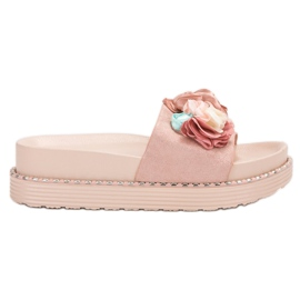 Bello Star roz Papuci pe platformă