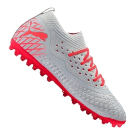 Cizme de fotbal Puma Future 4.2 Netfit Mg M 105681-01