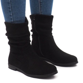 Cizme izolate cizme Jodhpur L7355 negru