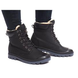 Cizme izolate X5903 negru