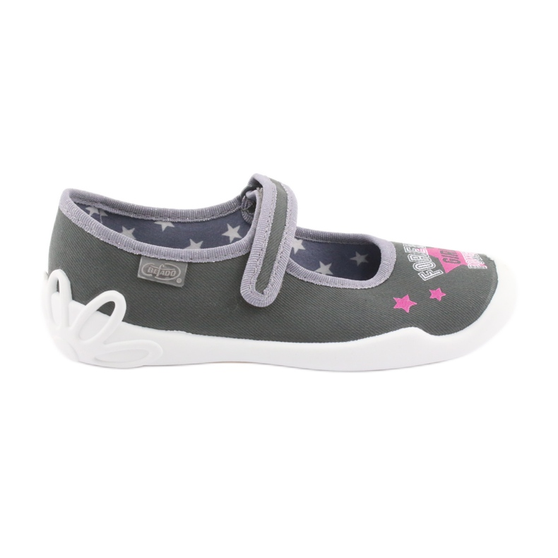 Încălțăminte pentru copii Befado 114Y370 roz gri