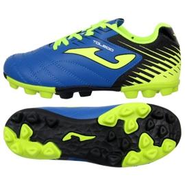 Cizme pentru fotbal Joma Toledo 904 Fg Jr. TOLJW.904.24 albastru albastru