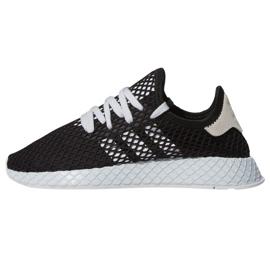 Negru Adidas Originals Deerupt Runner pantofi W EE5778