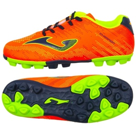 Cizme pentru fotbal Joma Champion Jr 908 Fg CHAJW.908.24 portocaliu portocaliu