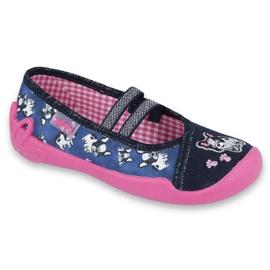 Încălțăminte pentru copii Befado 116X256 albastru roz multicolor