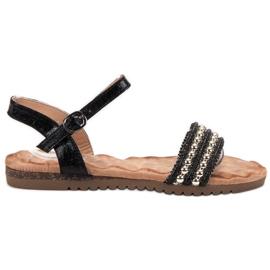 Emaks Sandale pentru femei confortabile negru