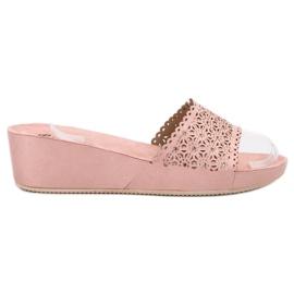 Primavera roz Pantofi pentru papuci