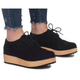Negru Pantofi negri Pe platforma Danielle