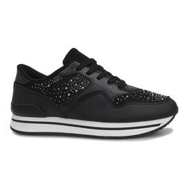 Negru Pantofi de sport neagră Odette