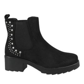 Kayla Shoes Tocuri inalte izolate pe negru 88048