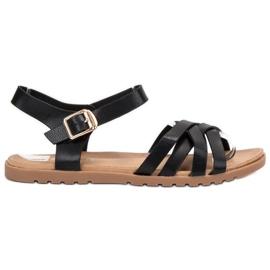BLESS negru Sandale negre clasice