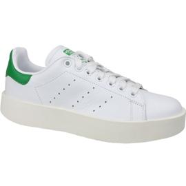 Alb Adidas Stan Smith Bold pantofi în S32266