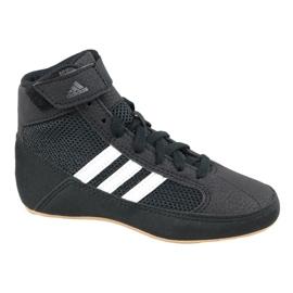 Negru Adidas Havoc K Jr pantofi AQ3327