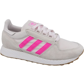 Alb Pantofi Adidas Forest Grove W EE5847