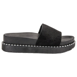 Melisa negru Flip Flops