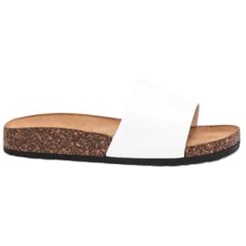 Bello Star Papuci de culoare clasic alb