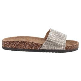 Bona gri Papuci cu plută