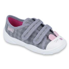 Încălțăminte pentru copii Befado 907P108 roz gri