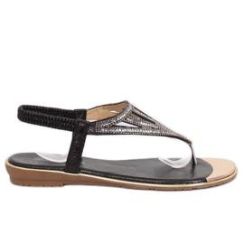 Negru M03 negru flip-flops
