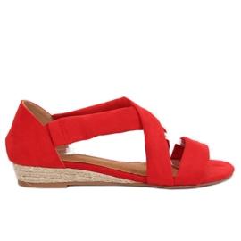 Sandale espadrille roșu 9R72 Roșu