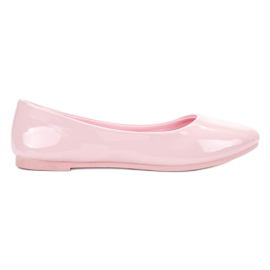 Roz Lăcustă VICES balerine