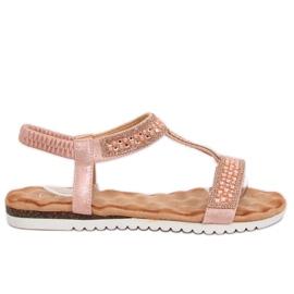 Sandale pentru femei roz roz HT-67 roz