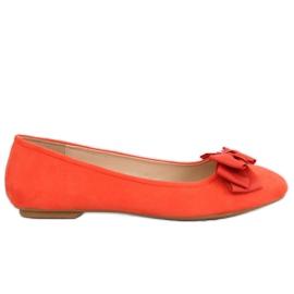 Orange balerina pentru femei 3173 Orange portocaliu