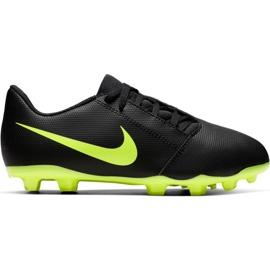 Nike Phantom Venom Club Fg Jr AO0396 007 pantofi de fotbal negru